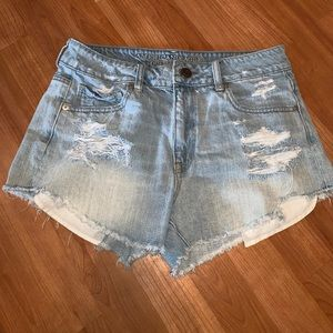 3/$15 American Eagle | Distressed Jean Shorts
